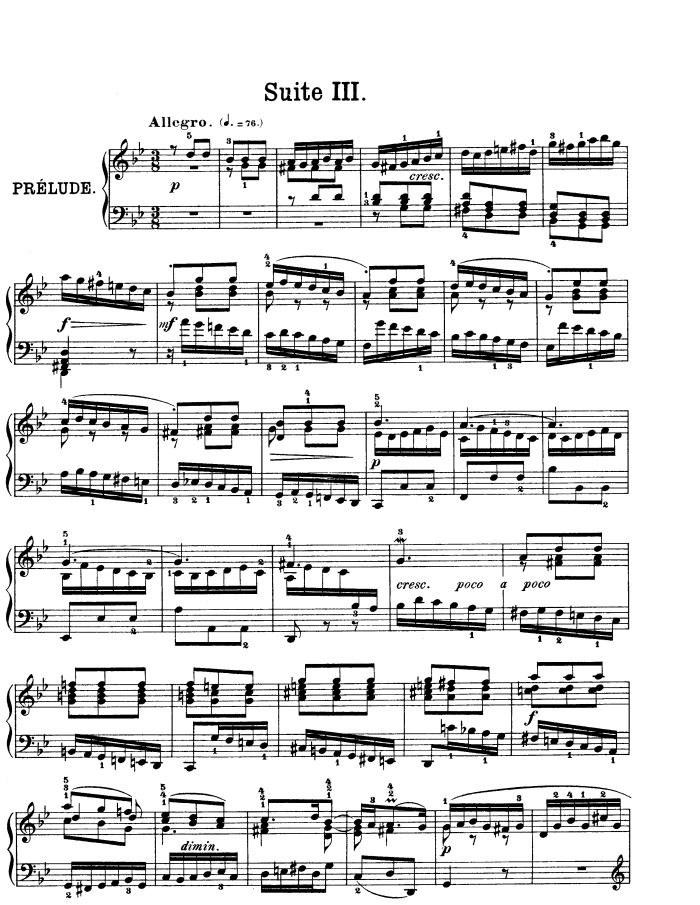 music analysis bach suite no 3 Bach — english suite no 3 in g minor, bwv 808 (v and vi), gavotte i & ii music: bach — english suite no 3 in g minor, bwv 808 (v and vi), gavotte i & ii.