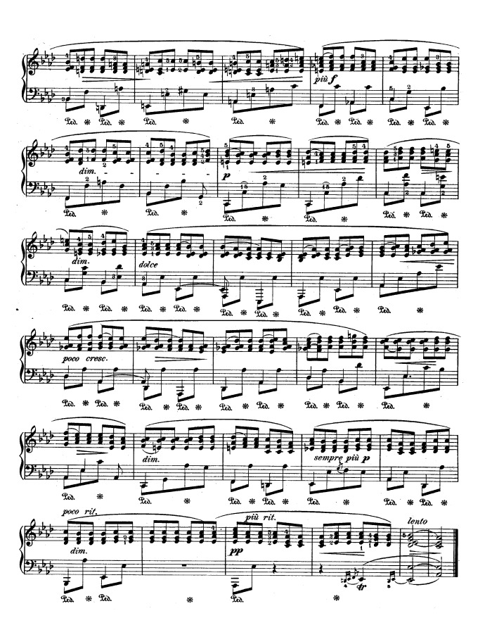"""comparison of chopin and liszt etude Franz liszt was also fryderyk chopin's """"frenemy"""" both chopin and are liszt are indelibly linked with the chopin even dedicated his first set of etudes to."""