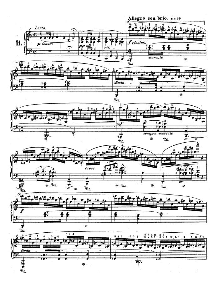 op 25 no 11 winter wind free sheet music by Chopin | Pianoshelf