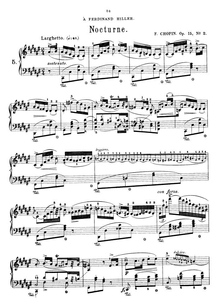 Chopin nocturne op 9 no 2 sheet music pdf