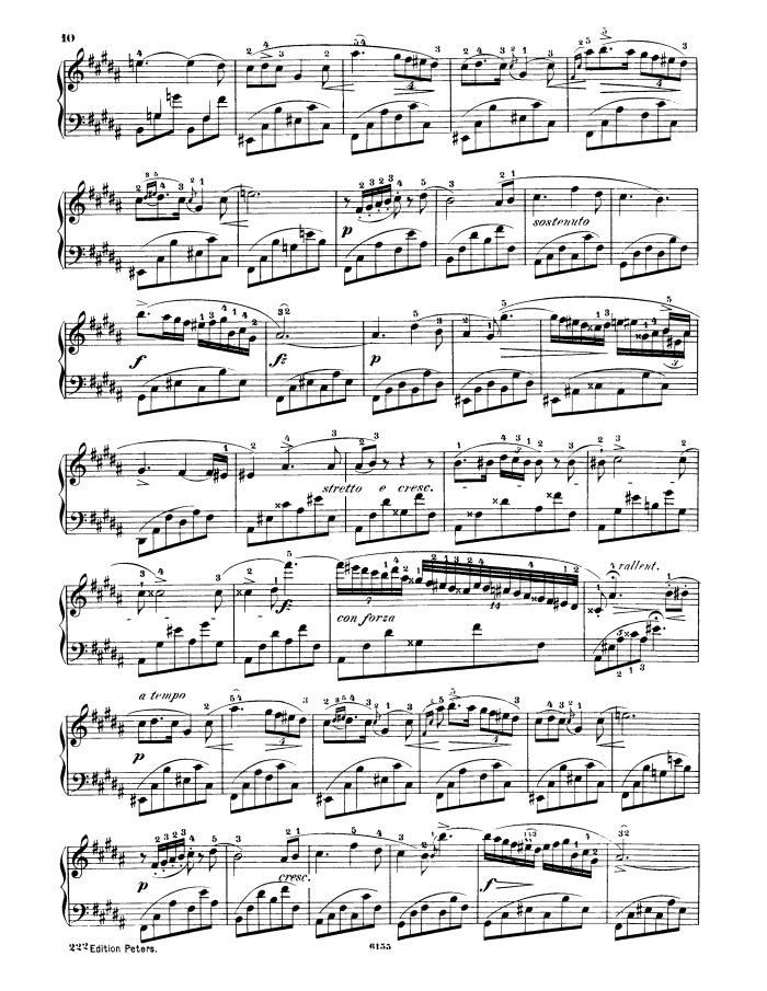 Free Chopin - Nocturne Op.9 No.1 sheet music for piano solo PDF