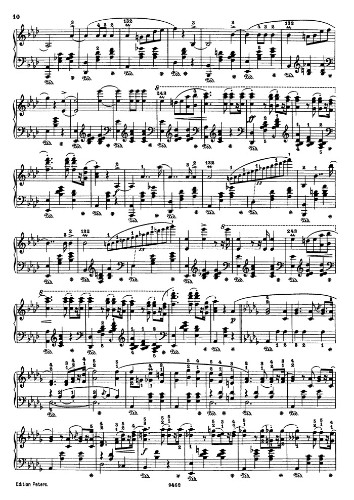 op 34 no 1 free sheet music by Chopin | Pianoshelf