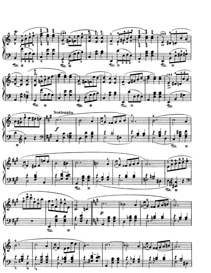 Op 34 No 2 Free Sheet Music By Chopin Pianoshelf