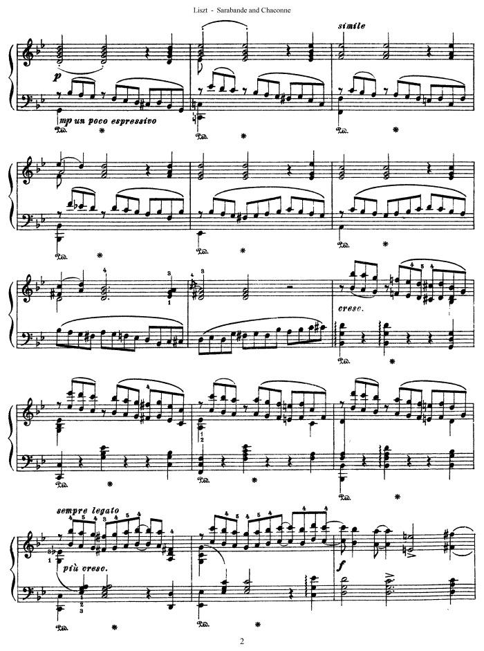 handel sarabande piano sheet music pdf