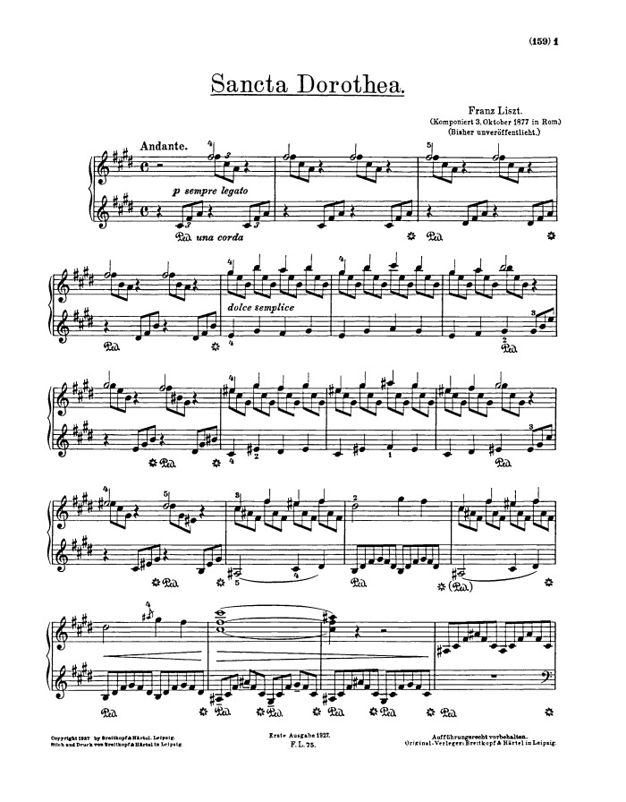 liszt consolation d flat major pdf
