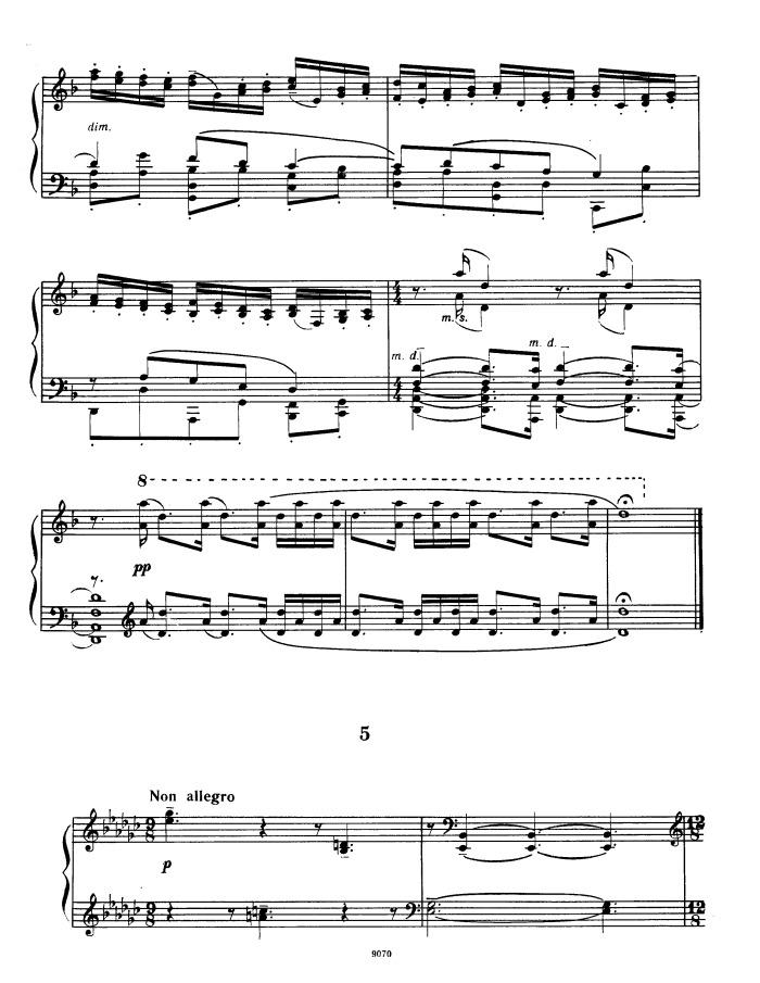 Rachmaninoff's Op.33 No.5, Etude in E-flat minor sheet music for piano