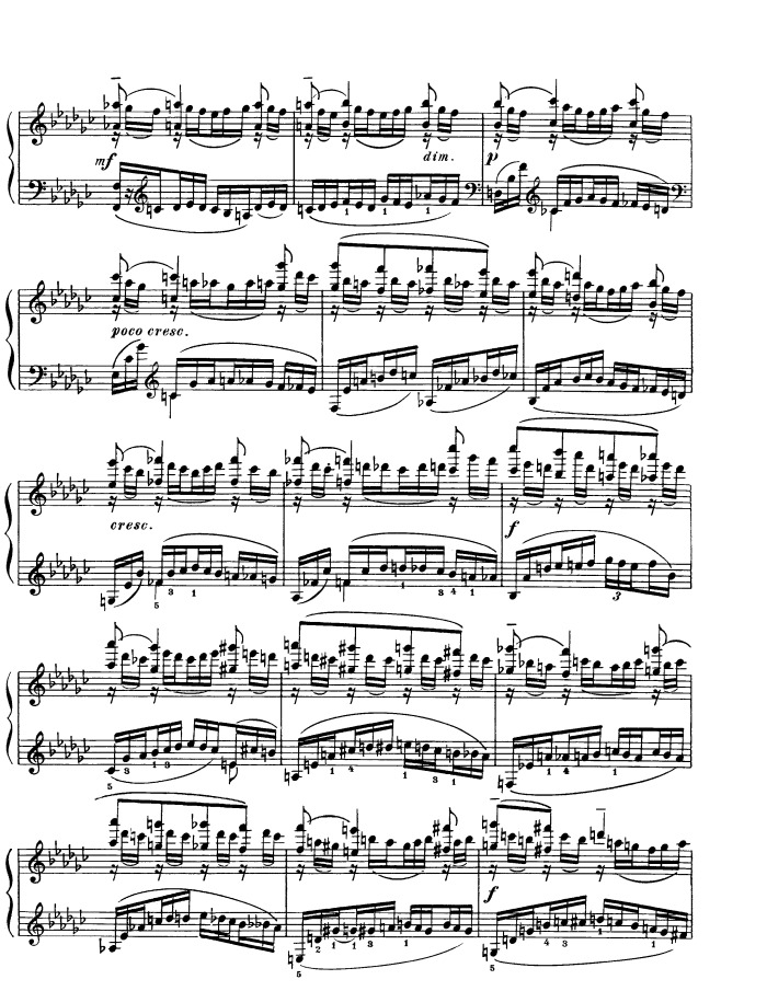 Moments musicaux, No. 2 in E-flat Minor, Op. 16