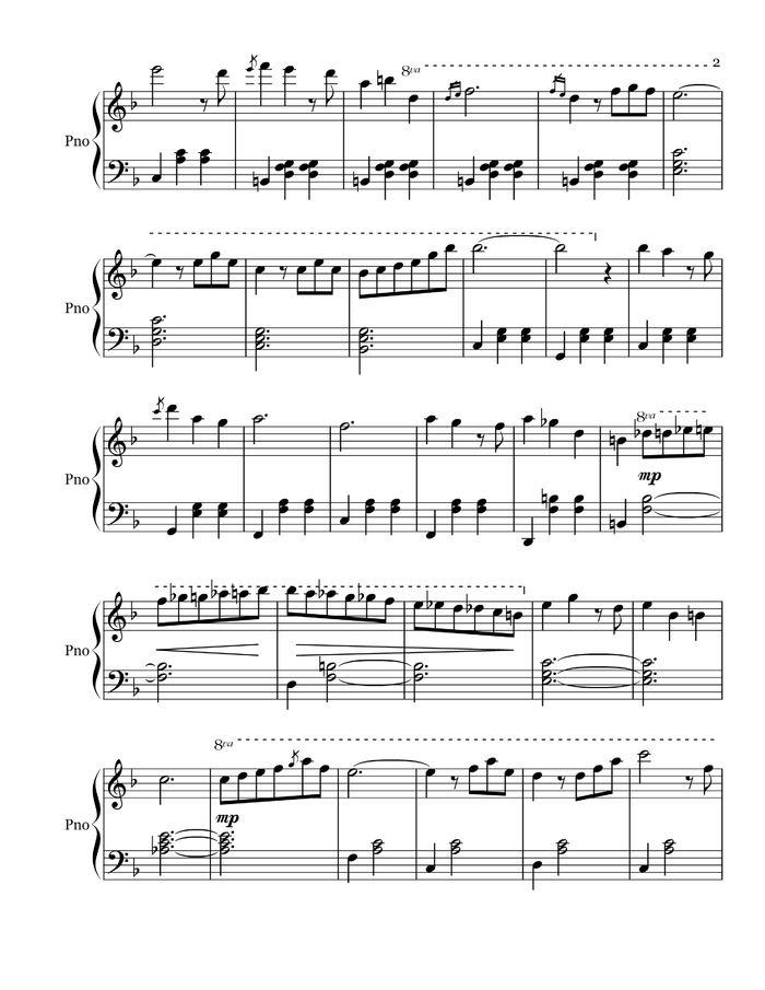 Married Life free sheet music by Michael Giacchino   Pianoshelf