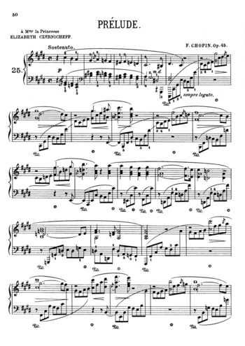 chopin prelude in b minor sheet music pdf
