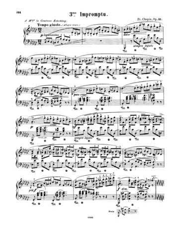 Solo Repertoire