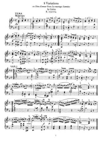 mariage d amour pdf piano sheet music